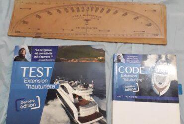 Privé: Privé: Privé: Pack Rousseau permis bateau extension hauturière