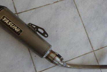 Privé: Privé: Echappement YASUNI 4 pour Scooter NMAX 125